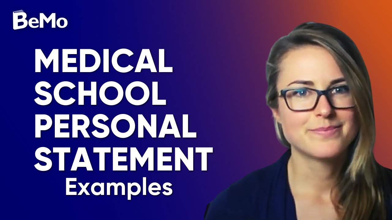 Medical  Personal Statement | Medical School Personal Statement Examples Youtube
