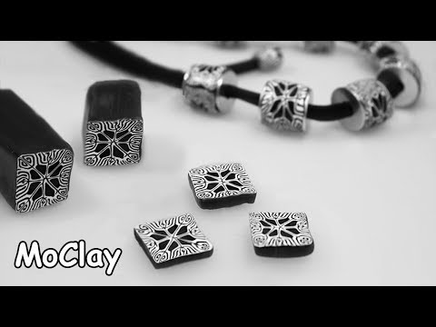 how-to-make-a-kaleidoscope-cane---diy-necklace-polymer-clay-tutorial