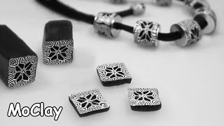 How to make a kaleidoscope cane - DIY necklace polymer clay ...