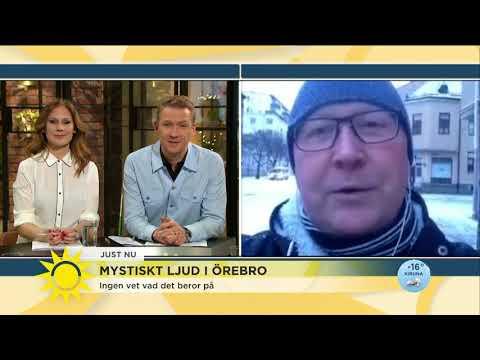 Mystiskt oljud i Örebro - Nyhetsmorgon (TV4)