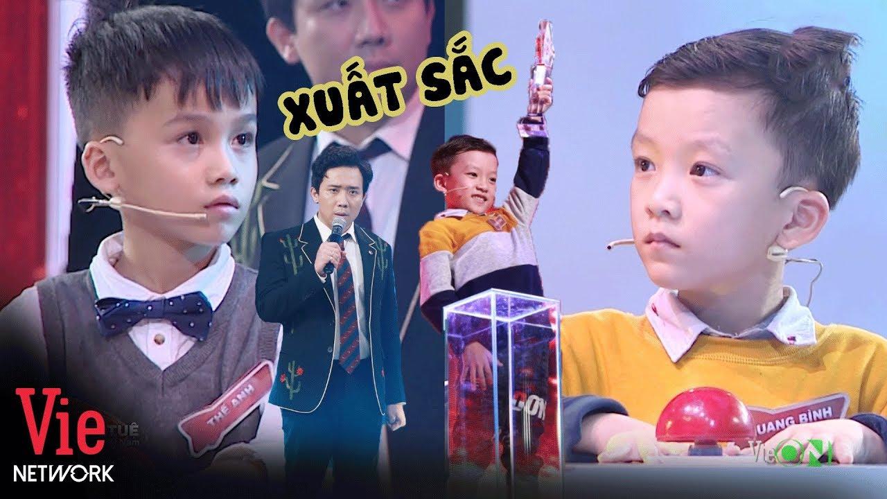 Download Quang Bình chiến thắng đầy thuyết phục trước Thế Anh khiến Trấn Thành nể phụcl Siêu Trí Tuệ Việt Nam