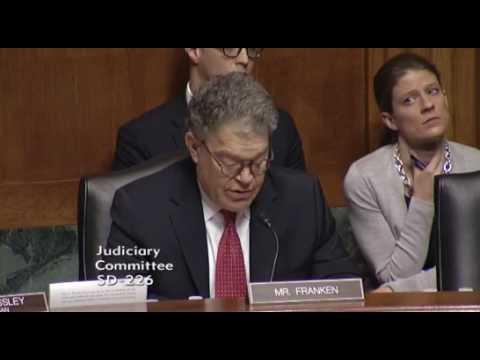 Al Franken Questions John Bush, 6/14/17
