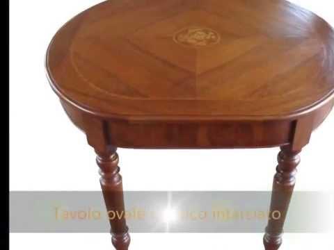 Tavolo tavoli classici ovali artigianali realizzabili su misura ...