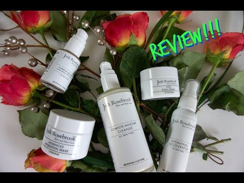 JOSH ROSEBROOK BRAND AND PRODUCT REVIEW ::GREEN, ECO LUXE :: NUCIYA NATURAL BEAUTY