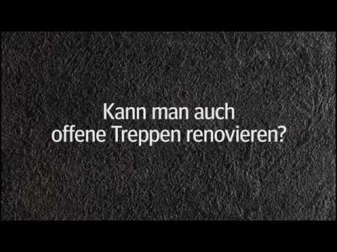 kann man auch offene treppen renovieren youtube. Black Bedroom Furniture Sets. Home Design Ideas