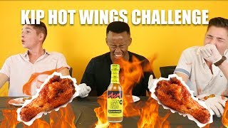 South Africans Try Hot Wings With Hot Ones (The Last Dab) Sauce