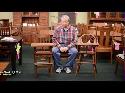 Barn Furniture - Amish Child's High Chairs