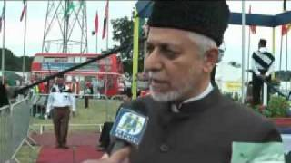 DM Digital Interviewed Ahmadiyya Imam Masjid London at Jalsa Salana UK-2010.