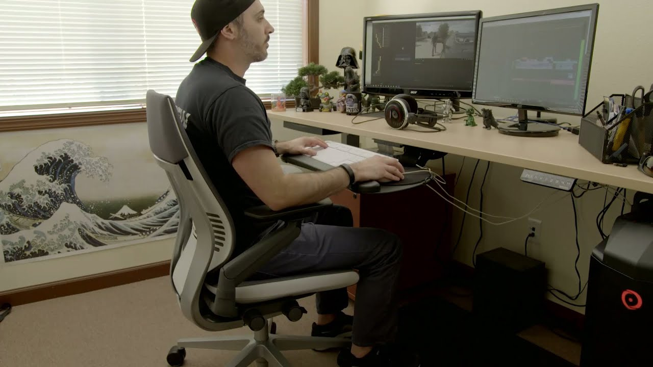 Steelcase Gesture Chair Review Egg No Stand Graveyard Carz Reviews The Youtube