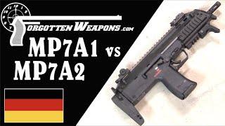 MP7A1 vs MP7A2: H&K's Modern PDW