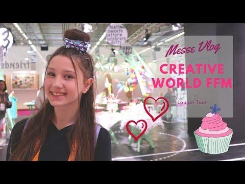 Vlog: Mit meiner Mutter auf der Creativeworld in Frankfurt