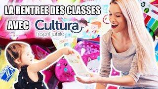 ❥ 556 - ACHATS POUR LA 1 ERE RENTREE DE MILA ! | Avec Cultura