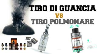 Svapo: Tiro di Guancia VS tiro Polmonare