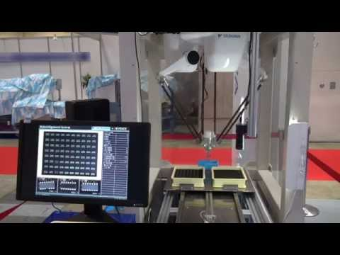 【安川電機�東京国際包装展:MOTOMAN-MPP3S+高解像度カメラによる高速検査システム