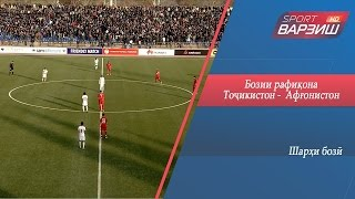 Товарищеский матч. Таджикистан – Афганистан. Обзор матча (13.11.2016)