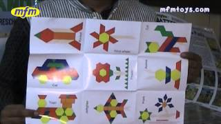 Magnetic Wooden Pattern Blocks By Mfm Toys
