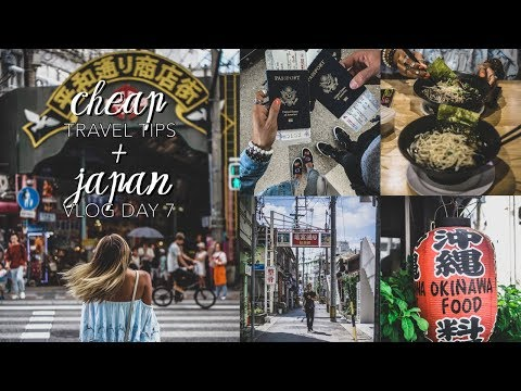 How to Travel For Cheap + Japan Vlog Day 7