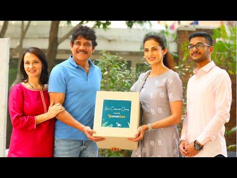 Download Nagarjuna Akkineni and Amala Akkineni launch SustainKart   Shilpa Reddy & Kanthi Dutt
