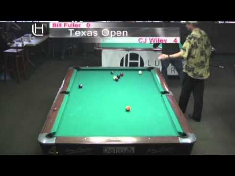 CJ Wiley vs. Bill Fuller at the 2010 Texas Open 1 of 2