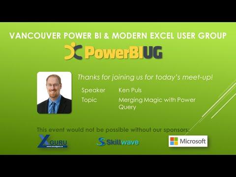 Vancouver Power BI & Modern Excel User Group Meeting - Power BI Track - Nov 2020