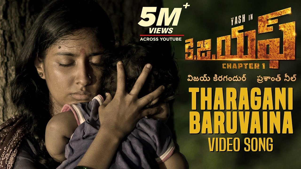 Download Tharagani Baruvaina Full Video Song | KGF Telugu Movie | Yash | Prashanth Neel | Hombale Films