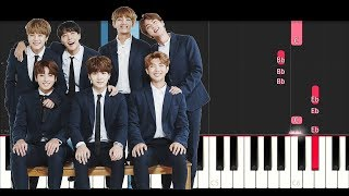 Bts  - Serendipity (Piano Tutorial)