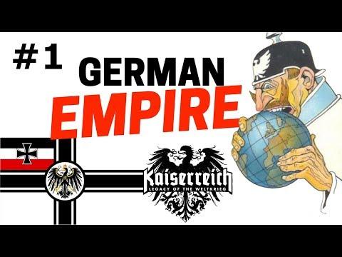 HOI4 - Kaiserreich Mod - Germany - Part 1