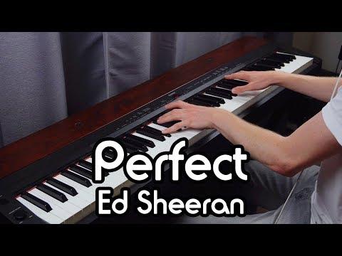 Ed Sheeran - Perfect (Piano Solo Cover) featuring Pachelbel's Canon