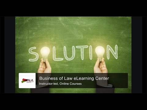 Business of Law - eLearning Online Courses