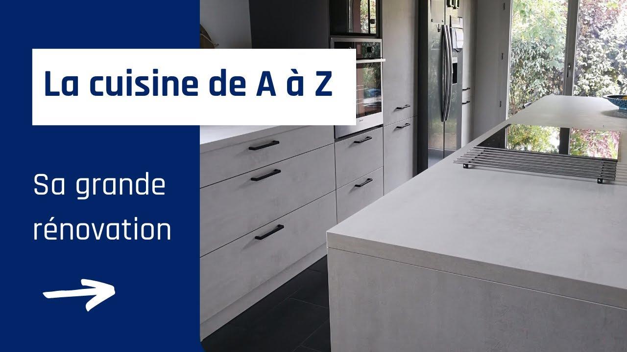 Renovation La Cuisine De A A Z Youtube