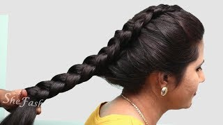 3 Quick & Easy Everyday Braided Hairstyles For Long Hair | hair style girl | Long hair || hairstyles
