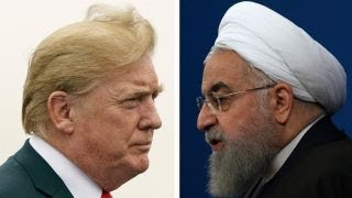 President Donald Trump and Iranian President Hassan Rouhani, From YouTubeVideos