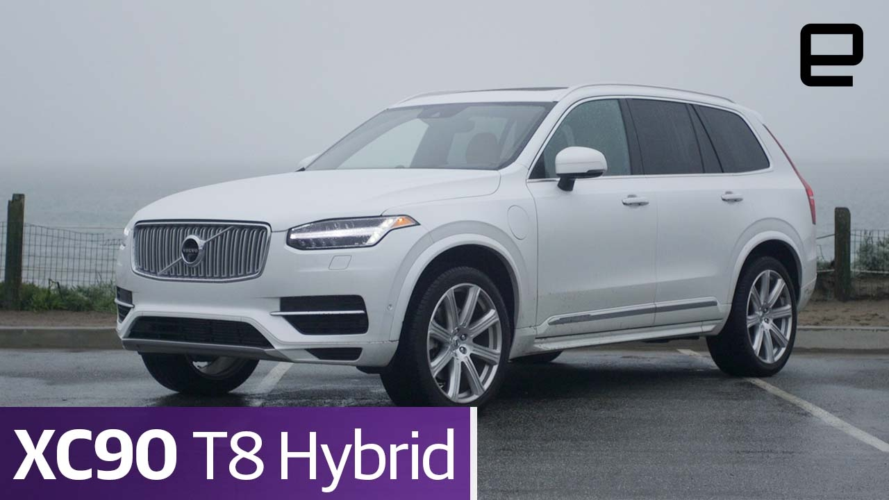 volvo xc90 t8 hybrid review youtube. Black Bedroom Furniture Sets. Home Design Ideas