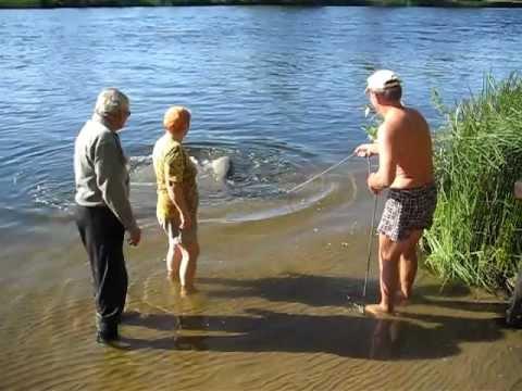 Рыба (гигант) поймана