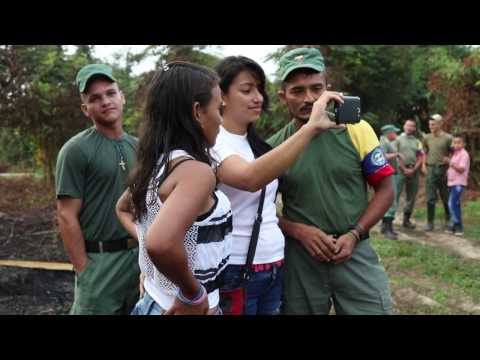 Entrevista con Reinel, comandante de las Farc en el Catatumbo