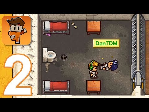 Escapists 2: Pocket Breakout - Gameplay Walkthrough Part 2 - Rattlesnake Springs (iOS, Android)