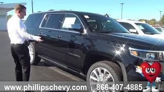 Phillips Chevrolet - 2019 Chevy Suburban - Power Assist Steps