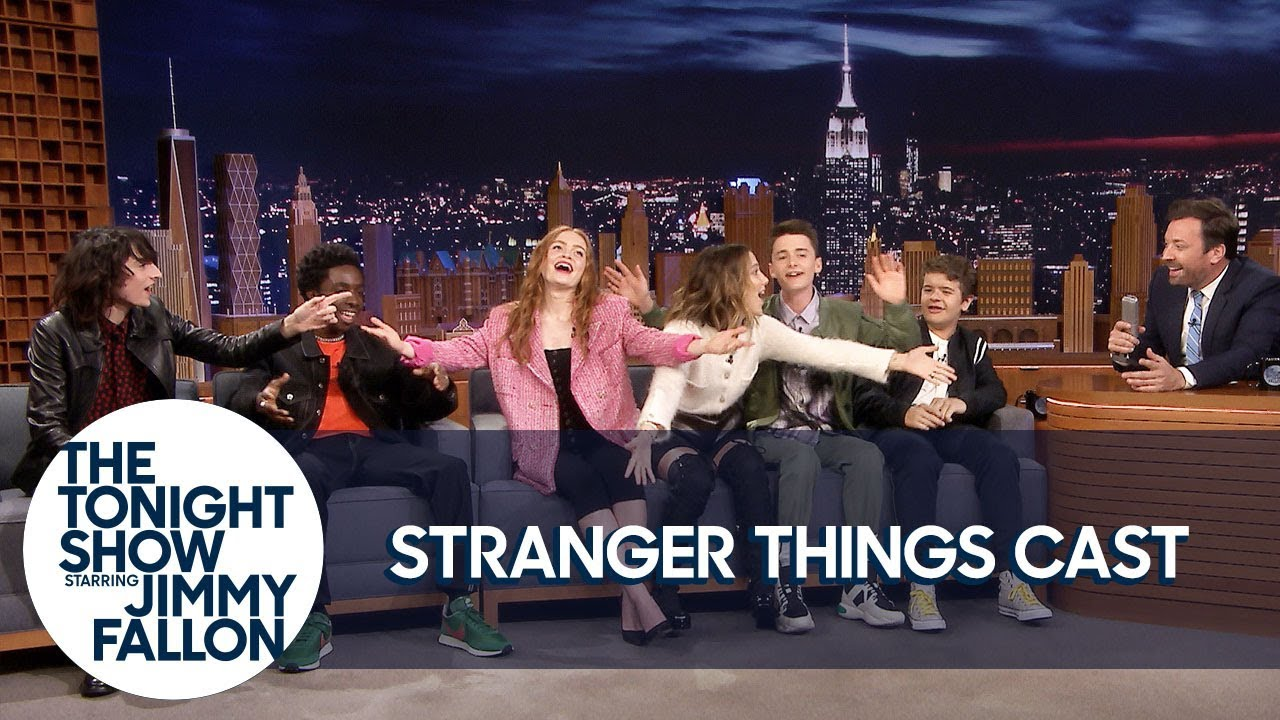 The Stranger Things Cast Teaches Jimmy the