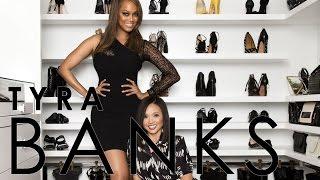 Celebrity Closets with Lisa Adams / Tyra Banks Closet Slideshow