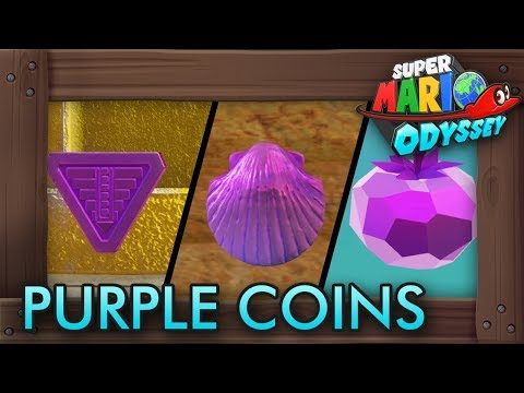Super Mario Odyssey - All 1000 Purple Coins (All Kingdoms)
