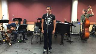 I Have Dreamed - Rehearsal for Lincoln Center American Songbook Series - Jose Llana
