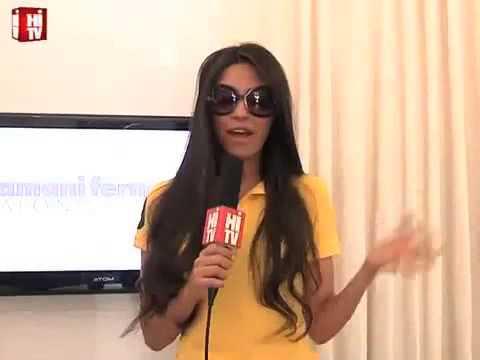 Hi! Celebrity Appearance, Anjhula Mya Singh Bais, Sri Lanka