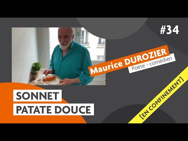 Les sonnets du comédien Maurice Durozier : patate douce