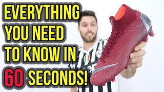 1 MINUTE REVIEW - NIKE MERCURIAL SUPERFLY 6 ELITE