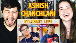 ASHISH CHANCHLANI | Student Life: Bollywood vs Reality | Reaction | Jaby Koay