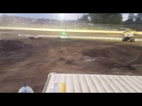 Skagit Speedway Tuff truck round two Subaru Scott