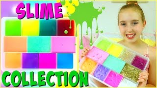 One of Millie and Chloe's most viewed videos: Slime Collection - Slime Haul and DIY Slime Storage Ideas