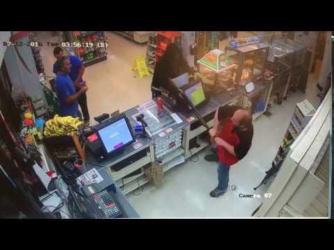 7-Eleven surveillance footage