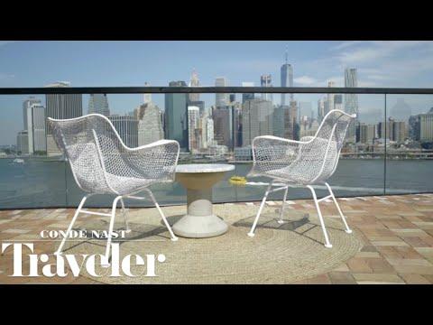 City Meets Nature at 1 Hotel Brooklyn Bridge | Condé Nast Traveler