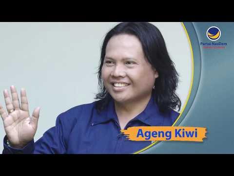 Ageng Kiwi Ingin Berkontribusi untuk Indonesia